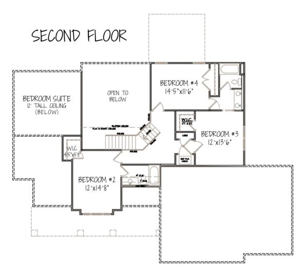 Sierra Ranch Apartments: Timberline-2ndflooor-floorplan