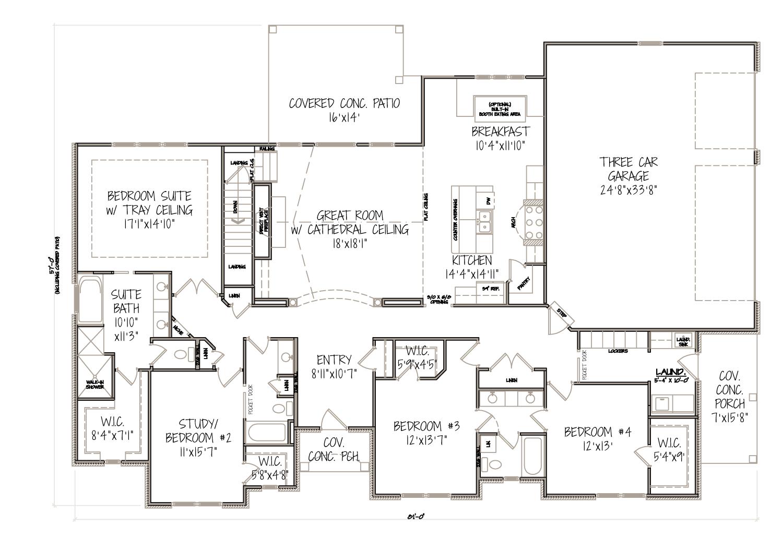 Breckenridge floor plan